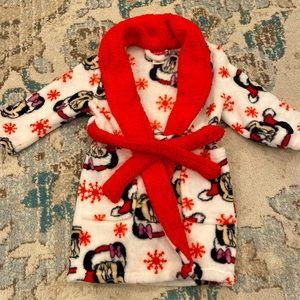 Disney Minnie Mouse Christmas Fleece Robe 2T